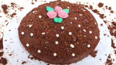 gâteau au chocolat : Gâteau choco-bananes