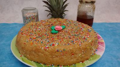 Gâteau de riz aux ananas - 6.3