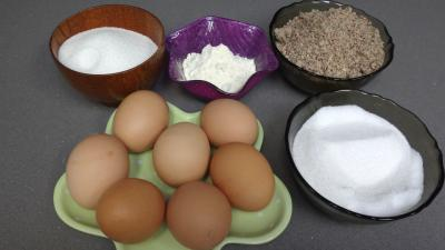 Ingrédients pour la recette : Biscuits capucine