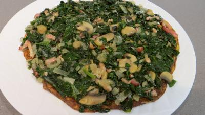 Omelette aux épinards - 8.1