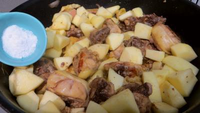 Fricassée de canard aux pommes - 3.2