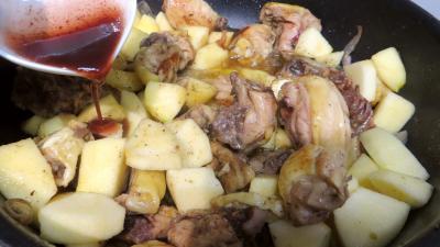 Fricassée de canard aux pommes - 3.4
