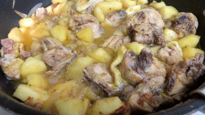 Fricassée de canard aux pommes - 4.2