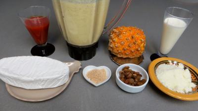 Ingrédients pour la recette : Rouleaux de crêpes au Caprice des Dieux