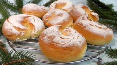Pains & pâtes : Petits pains au Parmesan