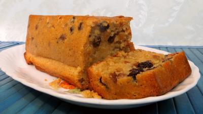 bicarbonate soude : Cake grand mère