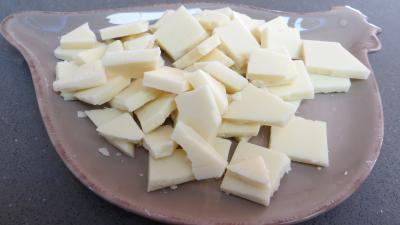 Mousse au chocolat blanc et aux fruits - 1.1