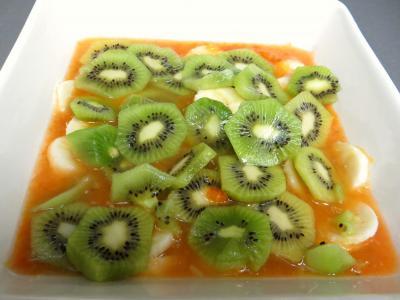 Soupe de kakis aux fruits - 4.4
