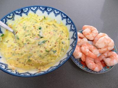 Oeufs mimosa aux crevettes - 2.4