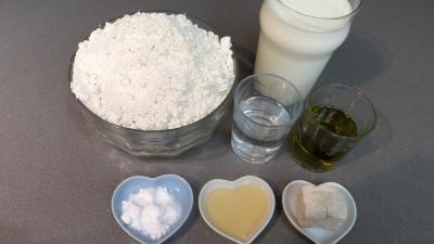Ingrédients pour la recette : Pain à la farine d'épeautre