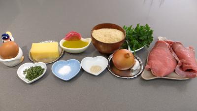 Ingrédients pour la recette : Boulettes de veau au Comté
