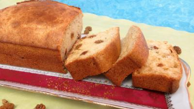 levure chimique : Cake aux cranberries