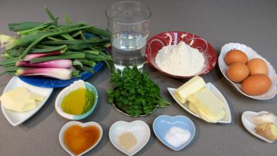 Ingrédients pour la recette : Boulettes d'oignons ou d'ognasses