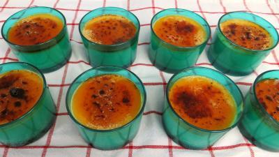 sirop d'érable : Crèmes brûlées au sirop d'érable