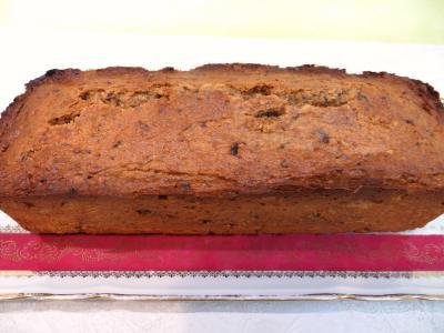 Dessert avec alcool : Gâteau aux pruneaux et noix de pécan