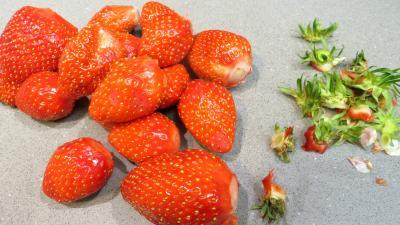 Crème bavaroise aux fraises - 1.3