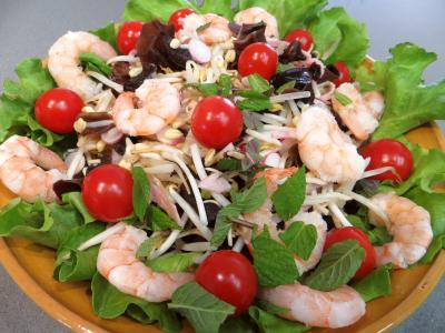 Salade chinoise aux radis roses - 4.2