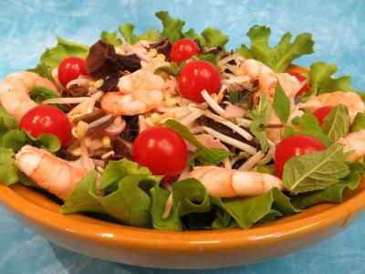 Recette Salade chinoise aux radis roses