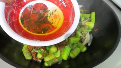 Crumble d'asperges à la mimolette - 4.3