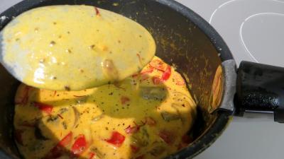 Nouilles chinoises à la crème de safran - 5.4