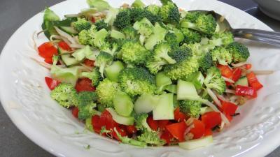 Haricots mungo en salade - 3.2