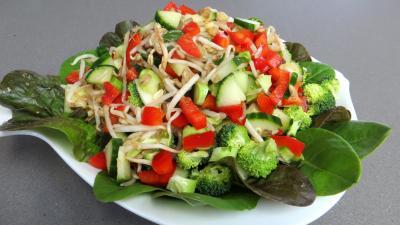 Haricots mungo en salade - 4.1