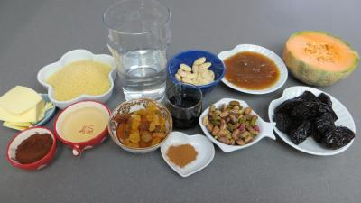 Ingrédients pour la recette : Couscous façon orientale
