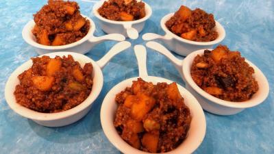 Les grands classiques : Coupelles de couscous façon orientale