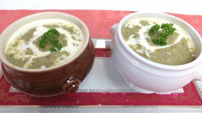 Soupes & potages : Velouté de brocolis