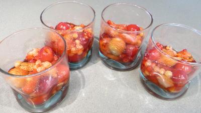 Verrines aux fruits rouges - 3.4