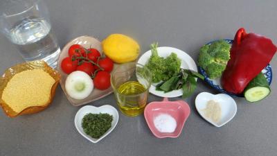 Ingrédients pour la recette : Taboulé façon libanaise