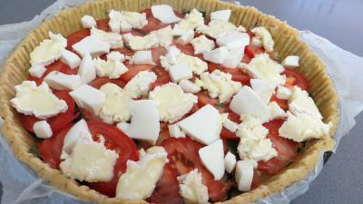 Tarte de tomates et de camembert - 5.4