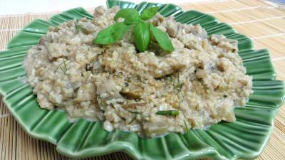 couscous : Plat d'aubergines au couscous