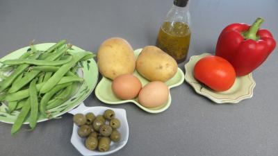 Ingrédients pour la recette : Salade provençale