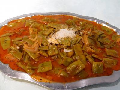 Cuisine diététique : Plat de haricots plats à la vénitienne