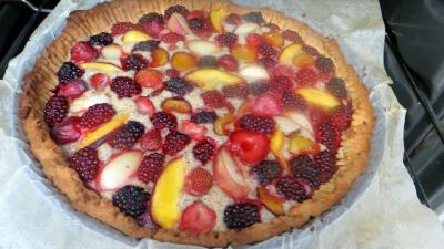 Sablé amandin aux fruits d'été - 6.2