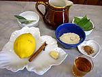 Ingrédients pour la recette : Grog à la sauge et à l'armagnac