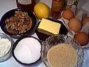 Ingrédients pour la recette : Gâteau aux noix