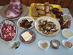 Ingrédients pour la recette : Coeur de veau aux morilles