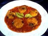 Sauce tomate de Françoise : Assiette de gnocchi à la semoule de riz
