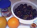 Ingrédients pour la recette : Compote de quetsches