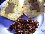 Recette Assiette de foie gras en brioche