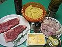 Ingrédients pour la recette : Contre-filets aux échalotes confites
