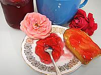 pétale de rose : Gelée de roses