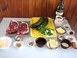 Ingrédients pour la recette : Contre-filets sauce Marchand de vin