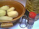 Ingrédients pour la recette : Frites