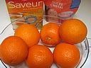 Ingrédients pour la recette : Ecorces d'oranges confites