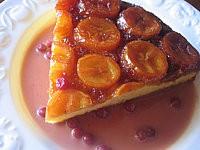 Recette Gâteau aux bananes et crème aux airelles
