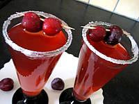 cocktail au bourbon et aux cerises
