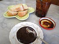 Recette Coupelle de gelée noire d'oranges et de pommes